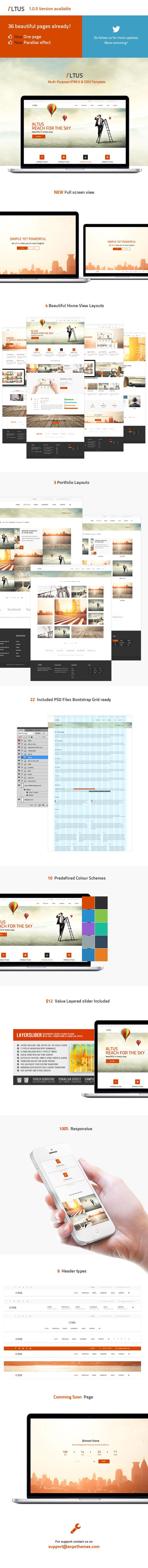 Altus - Multi-Purpose HTML Template - 3