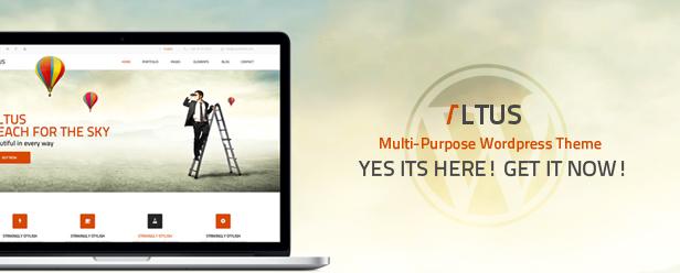 Altus - Multi-Purpose PSD Template