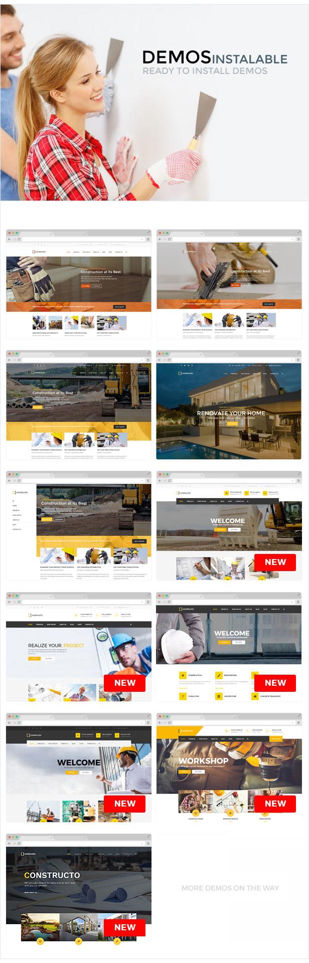 Constructo - Construction WordPress Theme - 10