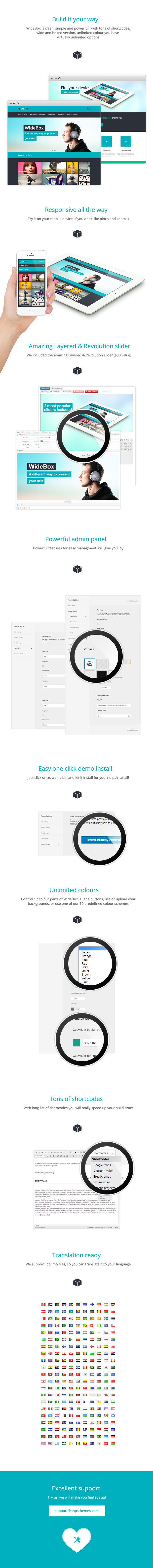 WideBox - Responsive Multi-Purpose Theme