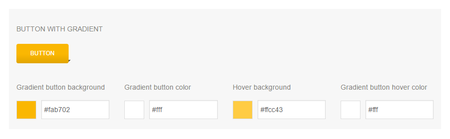 Options for the gradient button