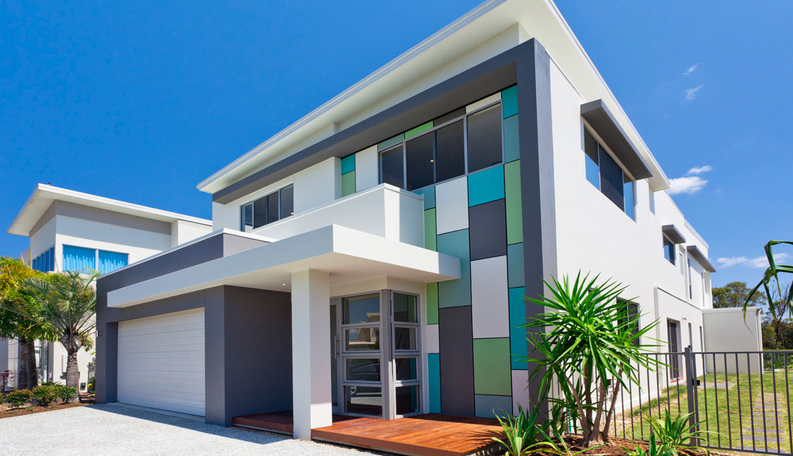 High tech smart house