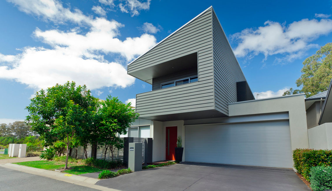 Big modern smart house
