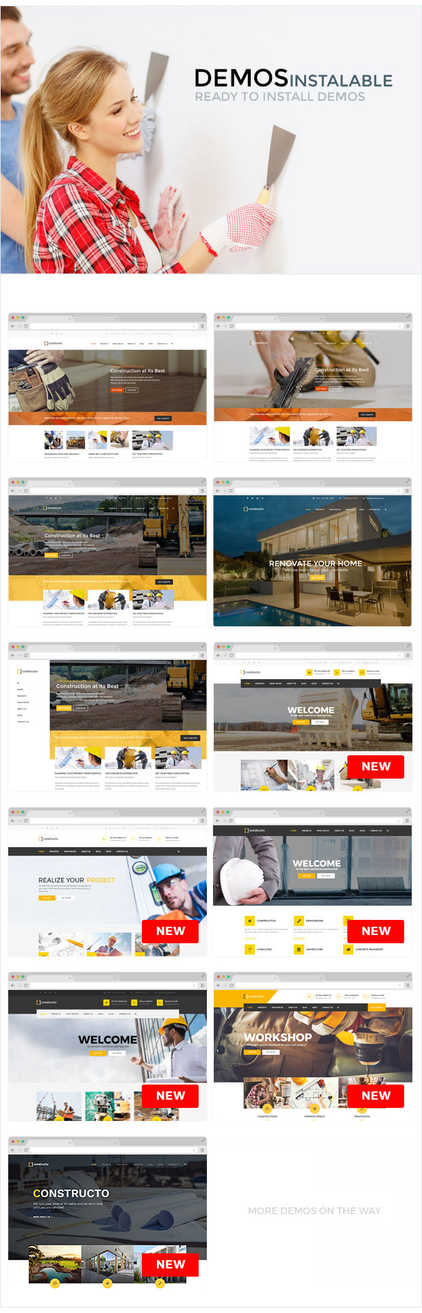 Constructo - Construction WordPress Theme - 10