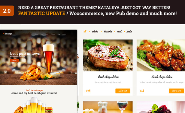 Ordero - Menu,Order,Reservation WordPress Plugin - 1