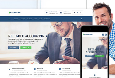 Accounting - HTML/CSS Template