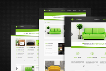 Cleanway - PSD template