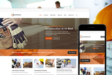 Constructo - HTML/CSS template