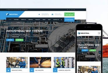 Industrial - PSD Template