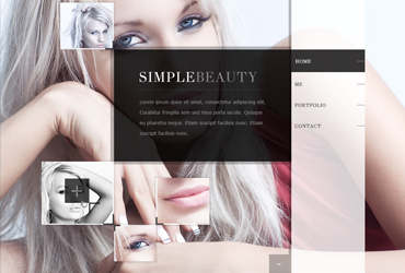 Intimate - PSD Template