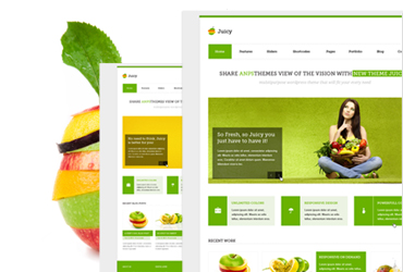 Juicy - PSD Template