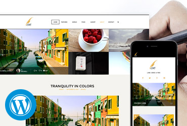 Pen - WordPress Theme