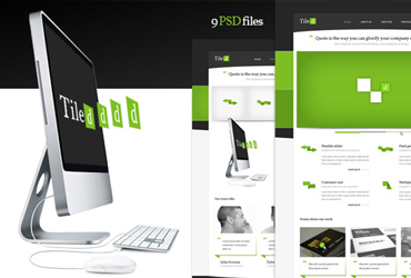 Tiled - PSD Template