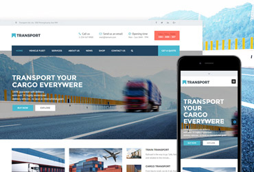 Transport - HTML/CSS Template