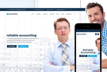 Accounting - WP Business theme for Accountants