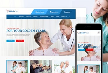 Elderly Care - WordPress Theme