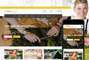 Florist - WP Florist & Flower shop Theme