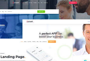 iStart - WordPress Startup Business Theme