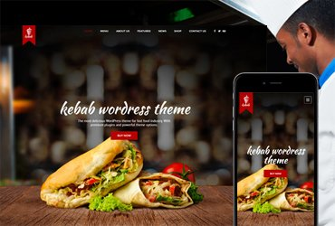 Kebab - Fast Food WordPress Theme