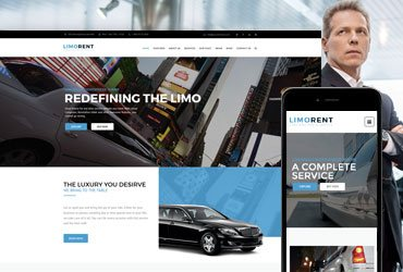 Limo Rent - Limousine and Car Rent WordPress Theme